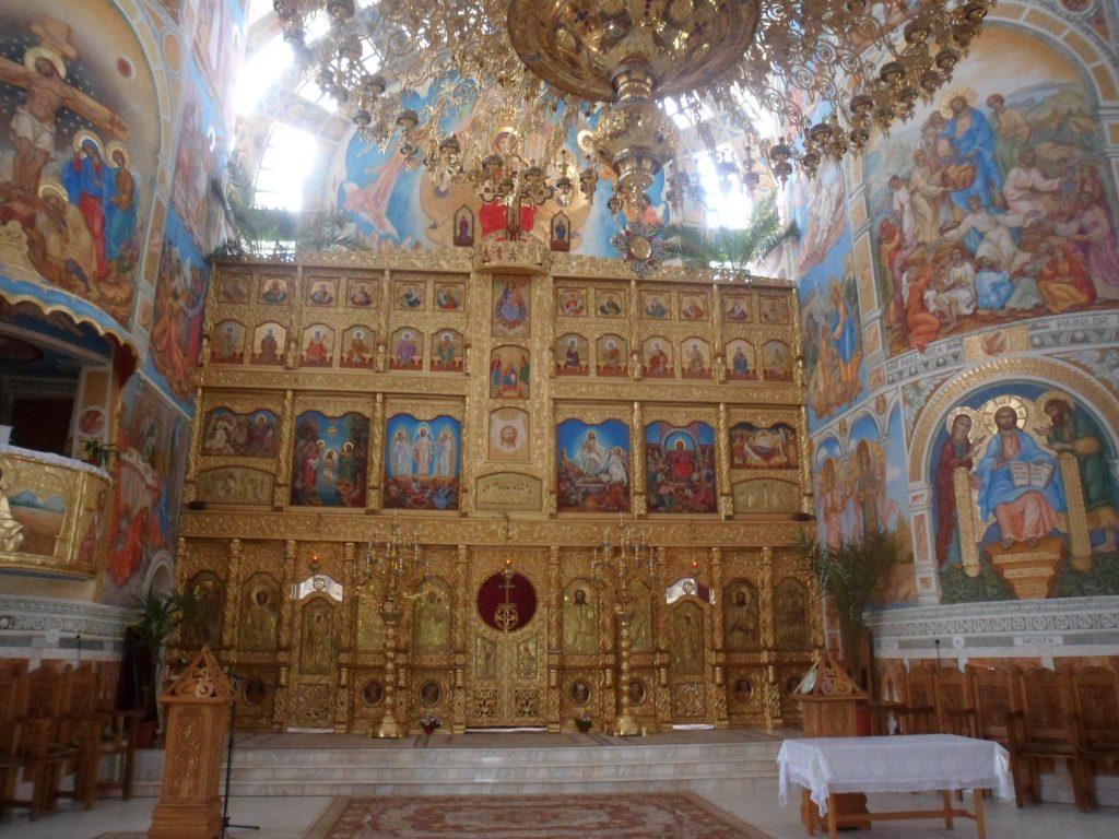 Detalii din  biserică