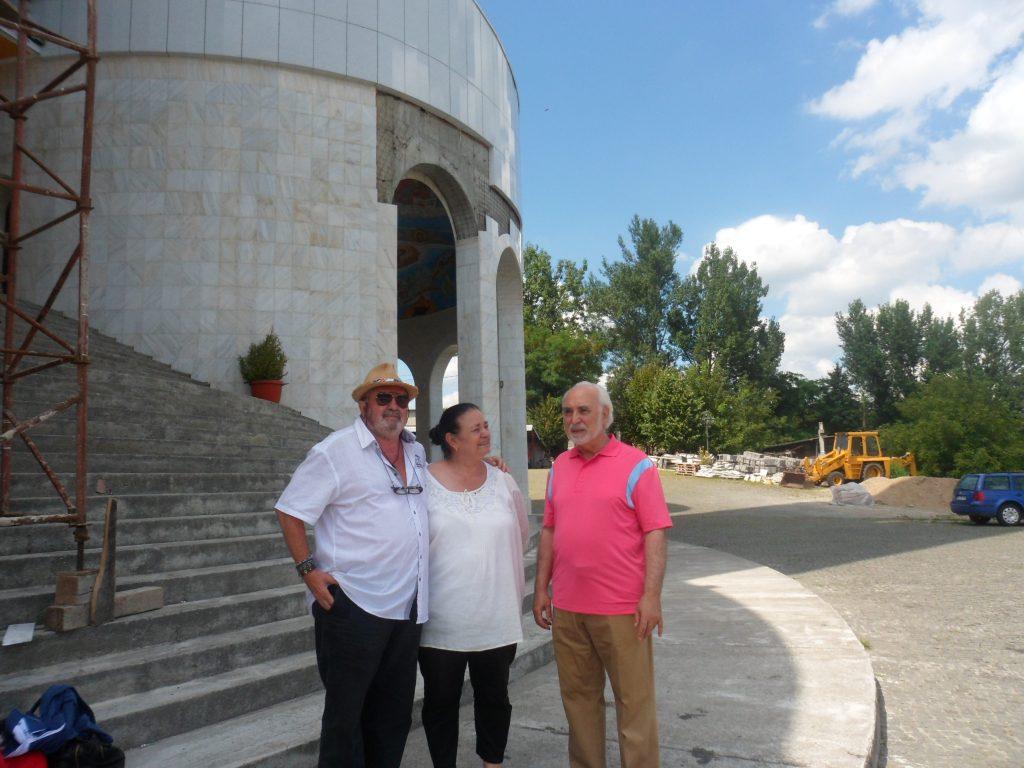 George, Lena Stanca  și Petru Botezatu
