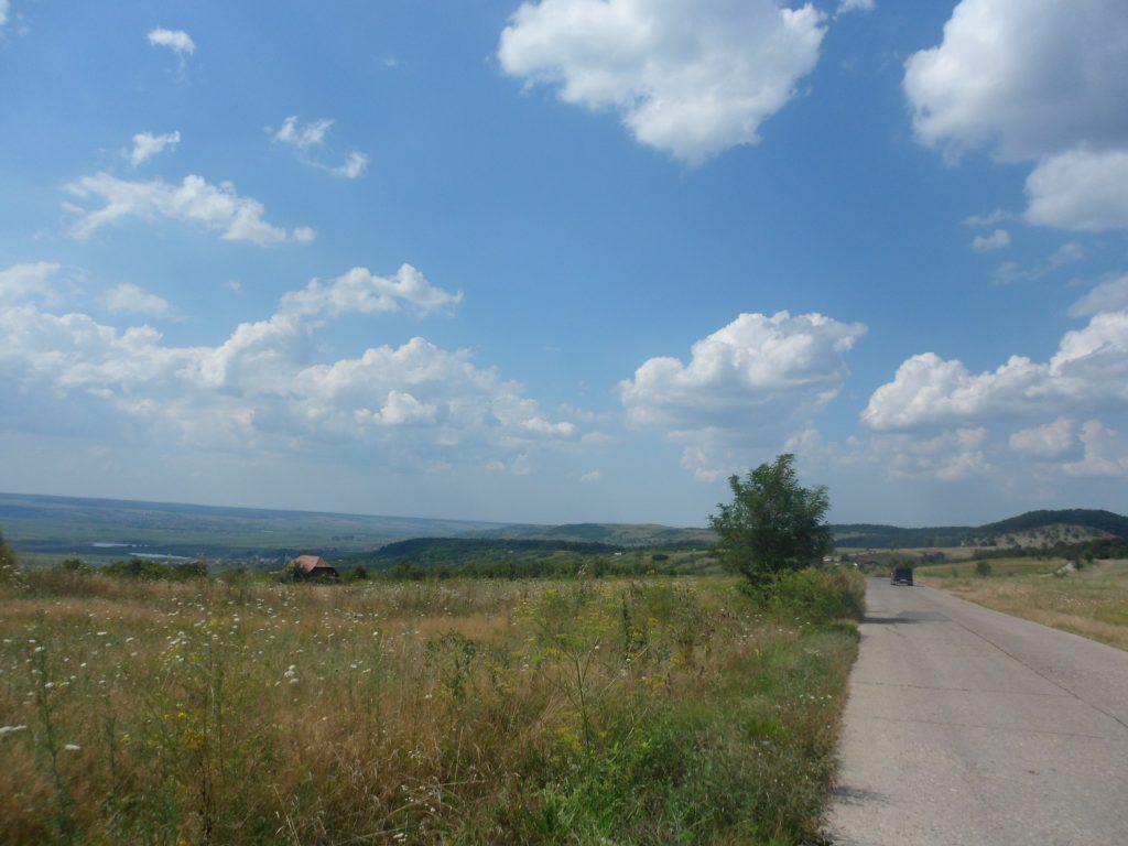 Intrarea în Chiejd granișă cu Jud Satu Mare