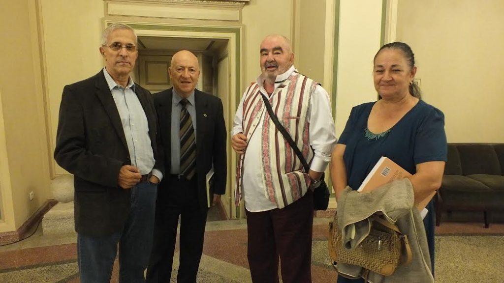 A Dimitiu, Mihai Nenoiu, George,  Lena Stanca