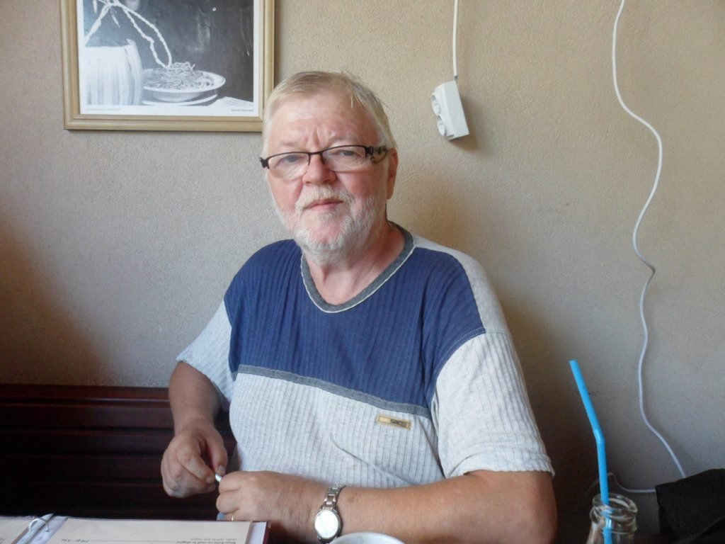 Maestrul Dan Andrei Aldea Vladimir, el însuși