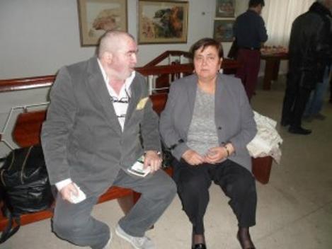Cu dr Doina Păuleanu și dr George Stanca relaxați după travaliu